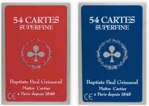 54 cartes superfines - Etui carton - Grimaud
