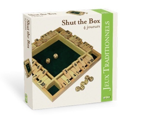 Shut the box 4 joueurs
